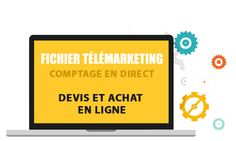 fichier de téléprospection, fichier télémarketing, fichier phoning
